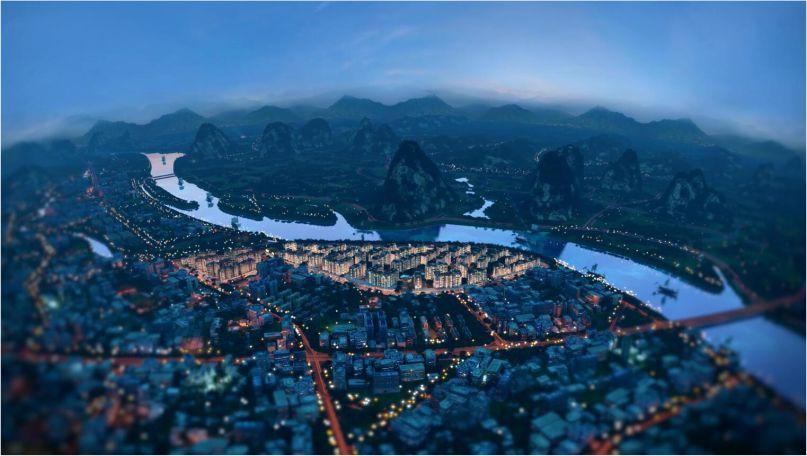 世界豪宅的中国封面,桂林漓江郡府PINKI DESIGN大艺术家2019首发作品《风景》- 在自己的房间里旅行
